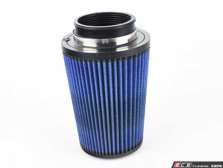 "ES#518484 - 24-35012 - Universal Pro 5R Air Filter - Blue (oiled) - Replacement filter with 3.5""inlet, 6""base, 4.75""top, and 8""height - AFE - Volkswagen"