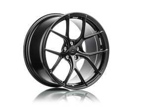 """ES#4040322 - ts5209511stsqKT - Titan 7 T-S5 20"""" Machine Black Staggered Set Of Four  - 20x9.5 ET22 72.5CB Front, 20x11 ET44 72.5CB Rear. - Titan 7 - BMW"""