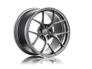 """ES#4040271 - ts518ststKT - Titan 7 T-S5 18"""" Satin Titanium Staggered Set Of Four - 18x9.5 ET22 72.5CB Front, 18x10.5 ET25 72.5CB Rear - Titan 7 - BMW"""