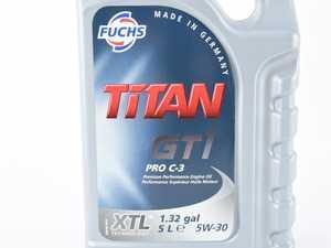 ES#4023579 - 80238000488 - GT1 PRO C-3 Engine Oil (5w-30) - 5 Liter - High performance engine oil for passenger vehicles - Fuchs - Audi Volkswagen