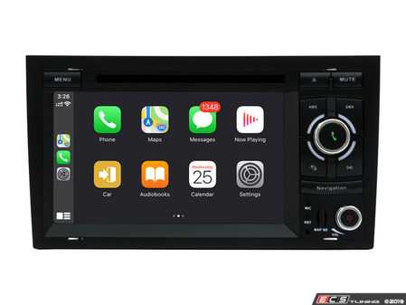 """ES#4031304 - 022619BRP05 - 7"""" Android DVD Multimedia System - With CarPlay & Android Auto - Features an 8-core processor running Android 9.0 making it one powerful plug and play radio upgrade! Now features wireless CarPlay and wired Android Auto! - Bremmen Parts - Audi"""
