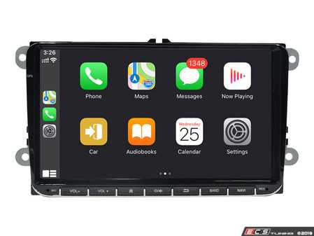 """ES#4033314 - 021488BRP09 -  9"""" Android Multimedia System - With CarPlay & Android Auto - Features an 8-core processor running Android 9.0 making it one powerful plug and play radio upgrade! Now features wireless CarPlay and wired Android Auto! - Bremmen Parts - Volkswagen"""