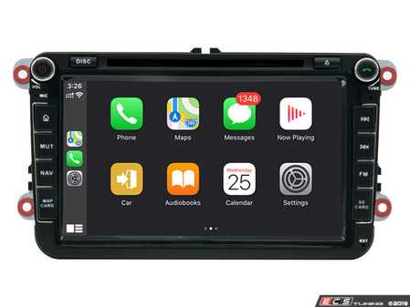 """ES#4039243 - 021488BRP10 -  8"""" Android DVD Multimedia System - With CarPlay & Android Auto - Features an 8-core processor running Android 9.0 making it one powerful plug and play radio upgrade! Now features wireless CarPlay and wired Android Auto! - Bremmen Parts - Volkswagen"""