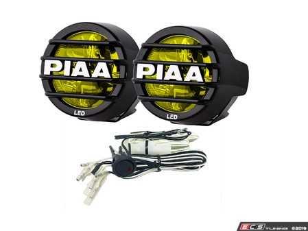 "ES#3477263 - 22-05372 - LP530 3.5"" LED Ion Yellow Driving Light Kit - LED Yellow Driving Beam - PIAA - Audi BMW Volkswagen MINI"