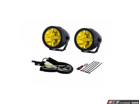 "ES#3477261 - 22-02772 - LP270 2.75"" LED Ion Yellow Driving Light Kit - LED Yellow Driving Beam with compact design - PIAA - Audi BMW Volkswagen MINI"