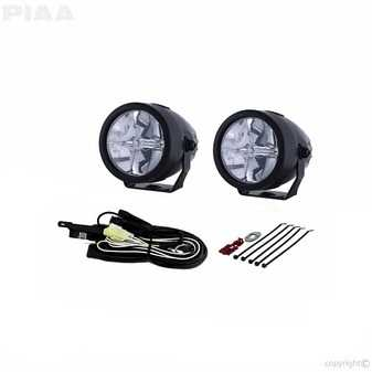 """ES#3477314 - 2772 - LP270 2.75"""" LED Driving Light Kit, SAE Compliant - LED White Driving Beam with compact design - PIAA - Audi BMW Volkswagen MINI"""