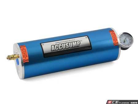 ES#4040157 - 24-026 - Accusump Oil Accumulator 2 Qt No Valve - Canton Racing -