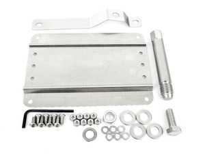 ES#4033252 - 0002S-VWJETTA7 - No Holes License Plate Bracket Kit - Avoid drilling holes in your bumper by utilizing a tow hook mounted plate bracket - GMG Motorsports - Volkswagen