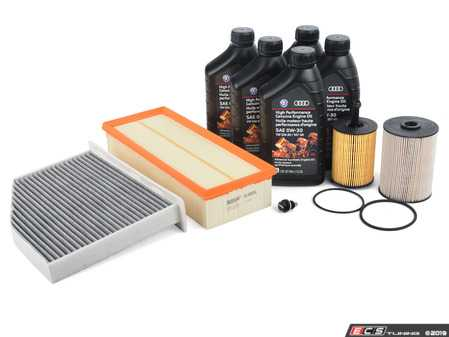 ES#2739489 - 1K0127434BOE2KT -  40k Service Kit - With ECS Magnetic Drain Plug - Everything you need to complete your scheduled maintenance - Assembled By ECS - Volkswagen