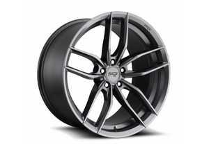 "ES#4040598 - m203199544+38KT - 19"" Vosso ""M203"" Wheels - Set Of Four - 19""x9.5"" ET38 66.6CB 5x112 Matte Anthracite - Niche Wheels - Audi"