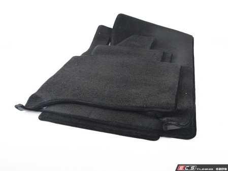 ES#3674144 - C5100156 - Lloyd Ultimat Carpeted Floor Mat Set - Black mat - Set of 4 floor mats - Lloyd Mats - BMW