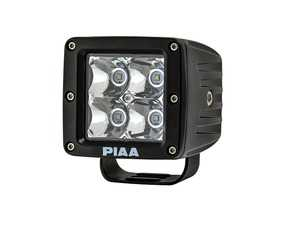ES#3477210 - 16-06603 - Quad Series LED Cube Light Spot Beam Single - Priced Each  - Spot Beam LED Cube used in multiple locations - PIAA - Audi BMW Volkswagen Mercedes Benz MINI Porsche