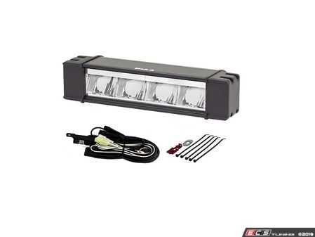 "ES#3477297 - 26-07110 - RF Series 10"" LED Light Bar Hybrid Beam Kit, SAE Compliant - White Wide/Driving Hybrid Beam - PIAA - Audi BMW Volkswagen Mercedes Benz MINI Porsche"