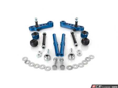 ES#4033273 - 022961tms09KT4 - Quick Steer/Roll Center Correction Race Kit  - Correct your suspension geometry, and increase your steering response and handling characteristics! - Turner Motorsport - BMW