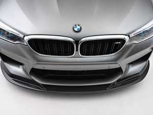 ES#4146894 - 028980TMS09 - Carbon Fiber Front Lip - The show-stopping carbon fiber masterpiece that you've been waiting for. No drilling required, simple installation using factory mounting locations. - Turner Motorsport - BMW