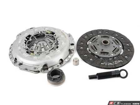 ES#3217799 - 6243649000 -  Clutch Kit - Includes clutch disc, pressure plate, release bearing, pilot bearing, and alignment tool - LUK - Audi