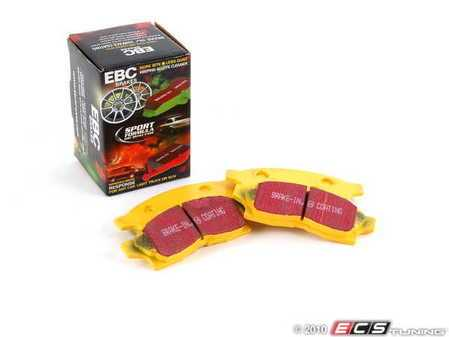 ES#521129 - DP4936R - EBC Yellowstuff pad set - Toyota - Front - EBC -
