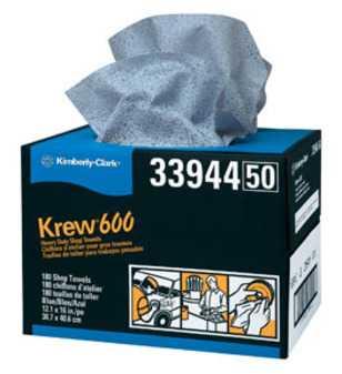 ES#2935731 - KIM33944 - Krew 600 Twin Pop-Up Heavy Duty Shop Towels - Extra Low Lint - Kimberly Clark - Audi Volkswagen Mercedes Benz MINI Porsche