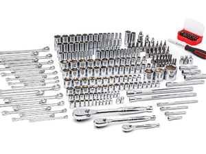 ES#3980715 - KDT80966 - 243 Piece 6 Point Mechanics Hand Tool Set - Great set for your home garage of shop. - Gear Wrench - Audi BMW Volkswagen Mercedes Benz MINI Porsche
