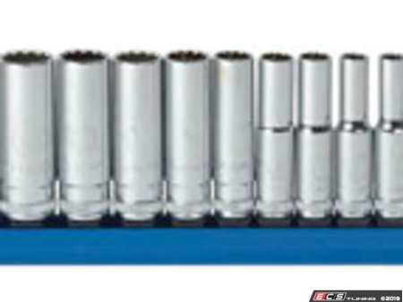 ES#2934903 - KDT80308 - 13 pc. Metric 12PT Deep Socket Set - Gear Wrench - BMW Volkswagen Mercedes Benz MINI Porsche