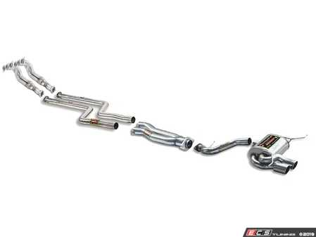 ES#4043171 - 782201KT - Supersprint Performance Exhaust System (50mm) - Header-Back Exhaust with 50mm piping - Supersprint - BMW