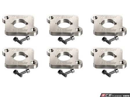 ES#4043180 - CTS-HW-205-6 - Coilpack Adapter Set For 2.7T Engines With FSI/TSI Coilpacks - Complete set of billet adapters bolt to the factory 30V 2.7T valve cover allowing you to run the reliable found on VW/Audi 2.0T FSI, TSI. - CTS - Audi