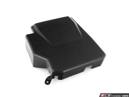 ES#3739793 - 028799ECS01 - Audi B9 A4/A5 ECU Cover - Matte Black - Compliment your engine bay and hide away the exposed ECU - ECS - Audi