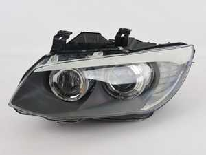 ES#4043240 - 63117273215sd - Bi-Xenon Adaptive Curve Headlight - Left - *Scratch And Dent* - Replacement for broken or damaged headlights - Genuine BMW - BMW