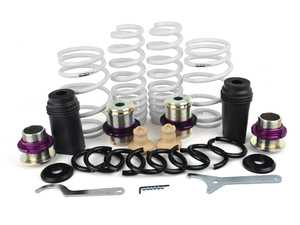 ES#4027480 - 80280-AT001 - HKS Height Adjustable Spring Kit - Allows you to set your preferred ride height while leaving the vehicles electronic damping control in place. - HKS - BMW