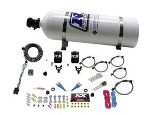 ES#4044107 - NEX20816 - Dual Nozzle BMW EFI Nitrous Kit - This kit comes packaged with dual Shark Nozzles which allow adjustability from 50 to 300hp. - Nitrous Express - BMW