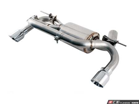 ES#4044179 - GRP-EXH-BWM235 - AWE Touring Edition Exhaust System - F22 - By replacing the factory muffler, you will uncover the pure sound of the N55 twin-turbo engine. - AWE - BMW