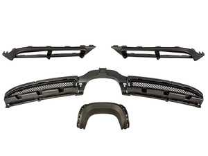 ES#4044254 - 981GT4DIFF - 981 Cayman/Boxster GT4 Style Rear Diffuser - Change the look of your 981 Cayman/Boxster's rear end with this GT4 style rear bumper diffuser - ECS - Porsche