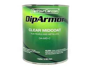 ES#4044418 - DA-MID-C - Dip Armor Mid Coat - 1 Gallon - If you plan to spray a Pearl color and then apply Dip Armor Advanced TopCoat. - DipYourCar - Audi BMW Volkswagen Mercedes Benz MINI Porsche
