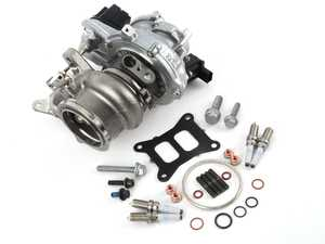 ES#4039572 - 06K145722HKT2 -  IS38 Turbo Upgrade Kit - Includes IHI Golf R / S3 IS38 turbocharger and all required installation hardware. - Assembled By ECS - Audi Volkswagen