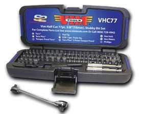 ES#2950868 - VIMVHC77 - 77 Pc. Half Cut Set, Torx - VIM Tools - Audi BMW Volkswagen Mercedes Benz MINI Porsche