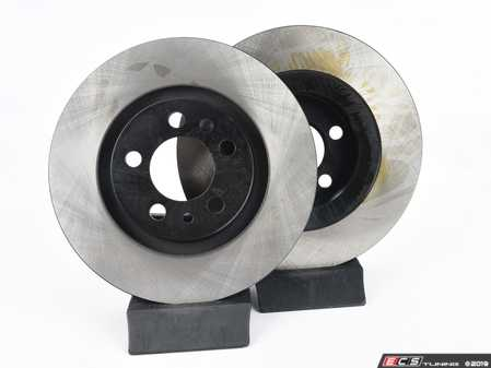 ES#3183823 - 1J0698040KT2 - Economy Ceramic Front Brake Service Kit (280x22) - Coated OP Parts Rotors and Jurid Brake pads - Only the essentials to perform a brake service - Assembled By ECS - Volkswagen