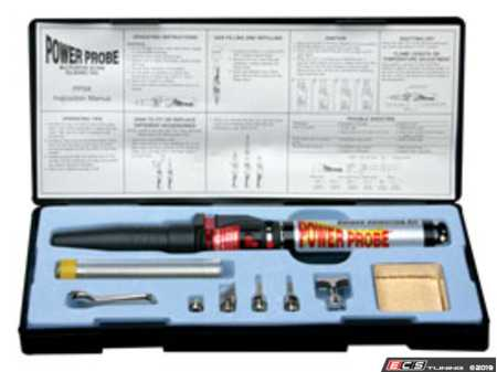 ES#2948976 - PWPPPSK - Power Probe Soldering Kit - Solder any where with this butane kit - Power Probe - Audi BMW Volkswagen Mercedes Benz Porsche