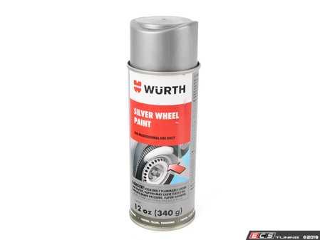 ES#4043177 - 892180sKT - Wurth Silver Wheel Paint - 12 Oz Aerosol - Wurth - Audi BMW Volkswagen Mercedes Benz MINI Porsche