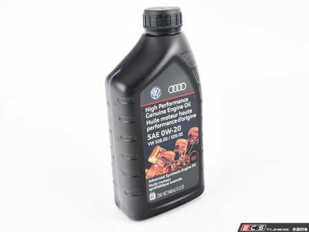ES#4030788 - GE600201QDSP - Full Synthetic Engine Oil (0W-20) - 1 Quart - LongLife IV - SAE 0W-20 - 508.00/509.00 - Genuine Volkswagen Audi - Audi Volkswagen
