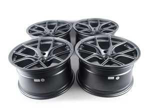 """ES#4040305 - ts51810sqstKT - Titan 7 T-S5 18"""" Satin Titanium Square Set Of Four - 18x10 ET25 72.5CB Square set of four - Titan 7 - BMW"""
