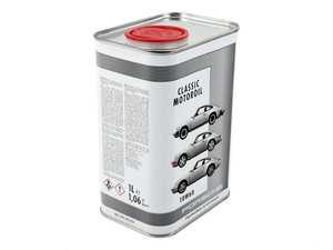 ES#3601972 - PCG04321005 - Porsche Classic Motor Oil - 10W-60 - Specialized oil for air-cooled engines - One liter - Genuine Porsche - Porsche