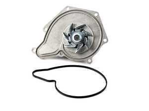 ES#2535889 - 06E121005F - Water Pump - With Adhesive Gasket - Brand new water pump with metal impeller - Hepu -