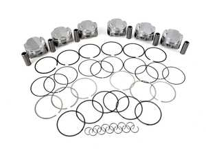 ES#4044482 - 297119 - JE Pistons Set Of 6 Pistons - Piston Single, 2618, Dome, 3.425 Bore, 1.271 CD, 0.827, Pin Dia, - JE Piston - BMW
