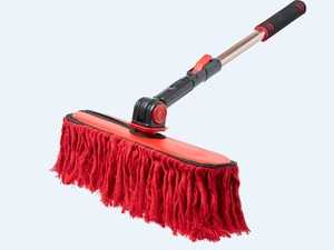 "ES#4044977 - 96629 - California Car Duster - Triple Threat Extension Duster - It extends. It swivels. It pivots. Extension pole stores are 26"" and opens to 42"" - California Duster - Audi BMW Volkswagen Mercedes Benz MINI Porsche"