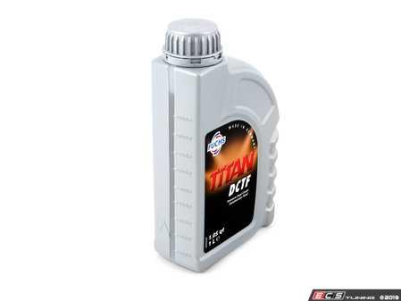ES#3612025 - 001989850309 - Titan Dual Clutch Transmission Fluid - 1 Liter - Premium dual clutch fluid - Fuchs - Audi Volkswagen