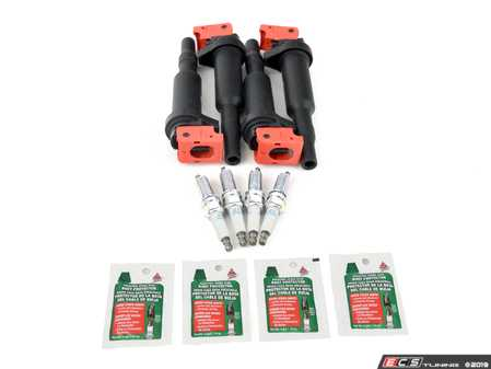 ES#3991665 - 12137575010isKT5 - High-Performance Ignition Service Kit - Includes Bavarian Autosport high performance coils, NGK plugs(stage colder), and dielectric grease - Assembled By ECS - MINI