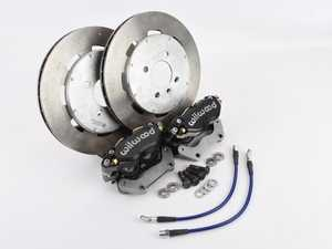 """ES#4045517 - ECSSDsd - Front 4-Piston Big Brake Kit - *Scratch And Dent* - Featuring 2-piece 11.75"""" rotors. Give your BMW incredible stopping power! - UUC - BMW"""