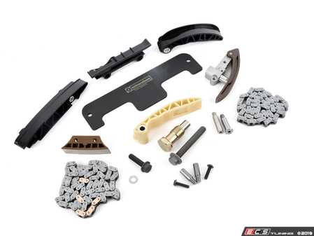 ES#3579869 - 03H109503KT3 - Ultimate Timing Chain Kit - Timing chain kit including chains, rails, and hardware - Assembled By ECS - Volkswagen