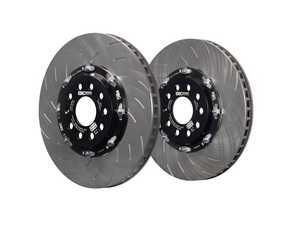 ES#4045706 - SG2FC1877 - Two-Piece Fully Floating Rotor - Pair (340x30) - Ideal for regular track-goers and cars boasting high level of tunes. - EBC - Audi Volkswagen
