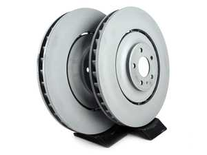 ES#4005474 - 4h0615301alKT - Front Brake Rotors - Pair (400x38) - Restore the stopping power in your vehicle - Zimmermann - Audi